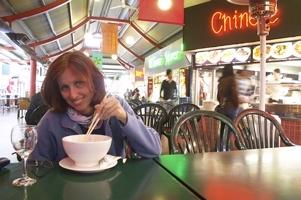 Asiatische küche und historische bauten